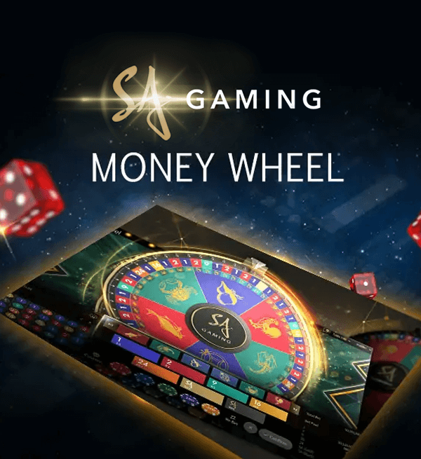 SA Gaming Money Wheel